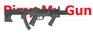 PMG M7 Inspired SMG by JettRyu