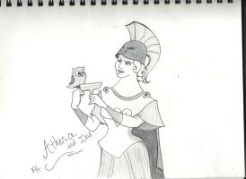 The goddess of Athens (Disney Hercules) by DisneyFreak010