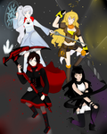 RWBY [Fan Art] by Elenaititis01