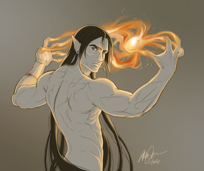 flametouched by anniecoleptic