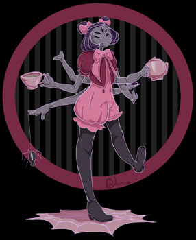 Muffet - Time for Tea! by nataliead