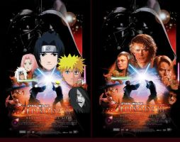 Naruto Movie Poster: StarWars3 by jori-ulrand