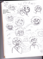 Five Night's at a Heta Place.(England sketches) by NeoCallie