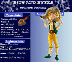 Bits and Bytes Aubrey by Draco-Digi