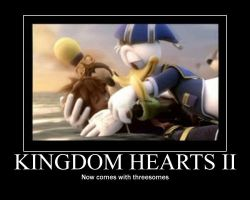 Kingdom Hearts II by gaveZexionmyHeart