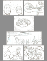Heroic man storyboards 3 by mistermuck
