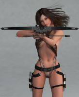 Young Lara Beautiful and Deadly 3 by JpauCroft