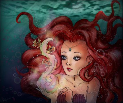 mermaid colours by Serendipity87