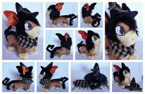 Flying Mage Plushie by foxpill