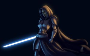 Commander Barriss Offee by Raikoh-illust