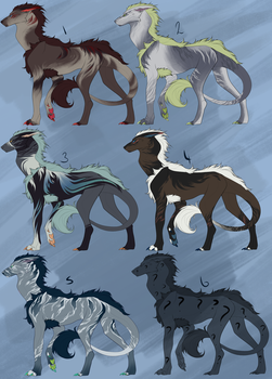 Vernid Flat Sale Designs by Cactus-Canine