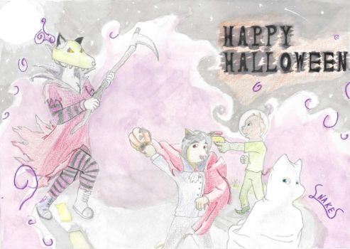 Halloween 2013 by SnakesAndApes