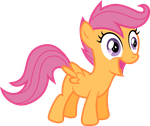 Scoots is Oh-So-Happy! by Atmospark