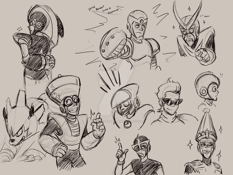 Sketchdump 091115 by The-Letter-W