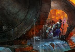 Cover for Long Hidden Anthology by juliedillon