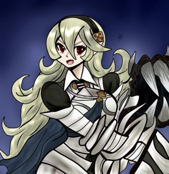 Fierce Corrin by RayDango