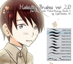 + Hetalia Brushes ver 2.0 | For MS5/CSP + by EulerStalker