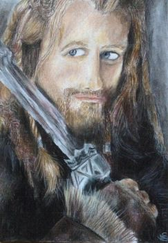 Fili - The Hobbit. by sdr-art
