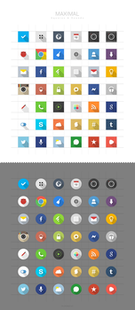 MAXIMAL Icons [Updated] by FFra