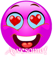 Awesome Smiley by funkypunk2