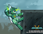 Lyra, Megamare X! by DarkFlame75
