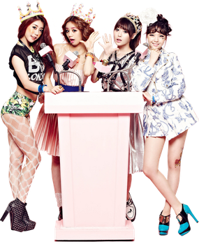 Girl's Day PNG Render by classicluv