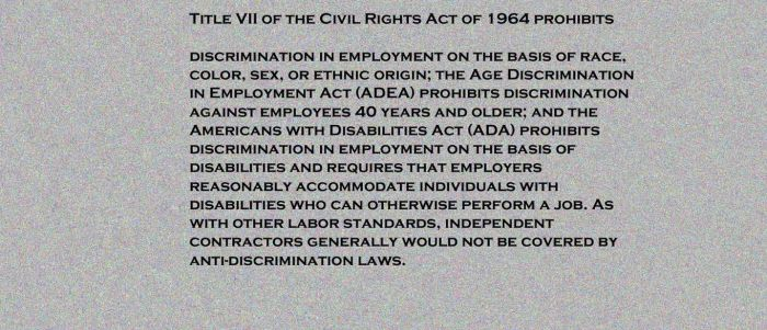 Title VII of the Civil Rights Act of 1964 by Madam-Flare