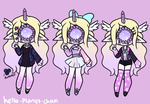 [outfit set] - NightPotion by hello-planet-chan