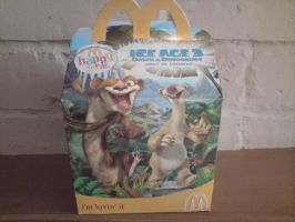 Buck happy meal box by cartoonprincessML