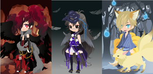 Dream Selfy Free Adopts: Demons (closed) by SeitoAnna