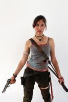 Lara Croft REBORN - IGAMES'13 by TanyaCroft