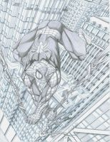 Spiderman in the sky by PerfectCirkel
