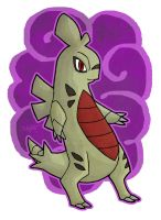 Alternate Larvitar Final Form by haha-tommy