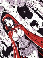 Red Riding Hood by calslayton