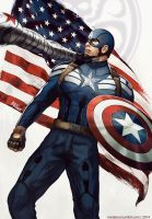 Captain America: The Winter Soldier by MeTaa
