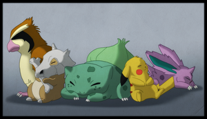 Pokemon - FireRed Team