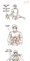 Being dad by Hubedihubbe