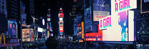 Times Square Lights by atLevel1Alt