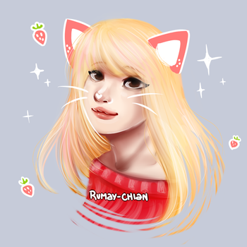 Pink Kitty by Rumay-Chian