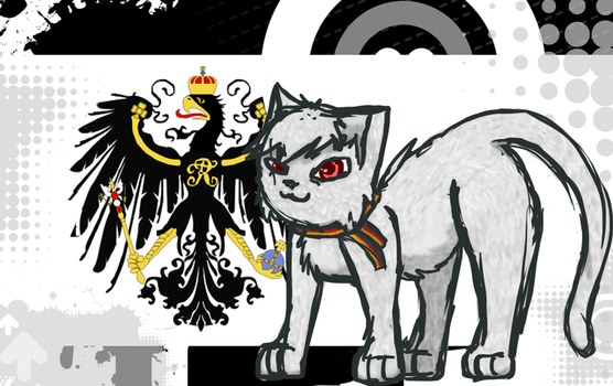 APH Prussia Cat by CharcoalOwl