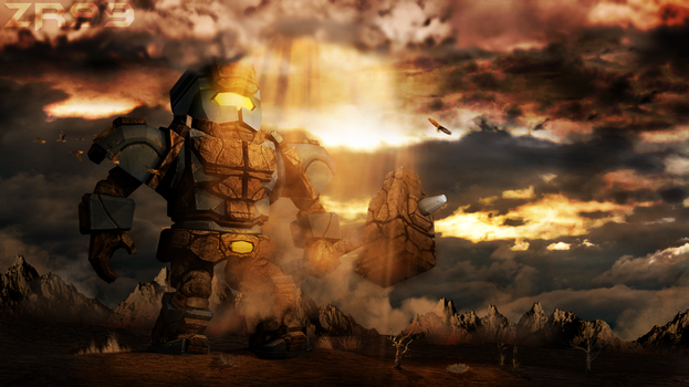 All Seeing Golem by ContentDestroyed