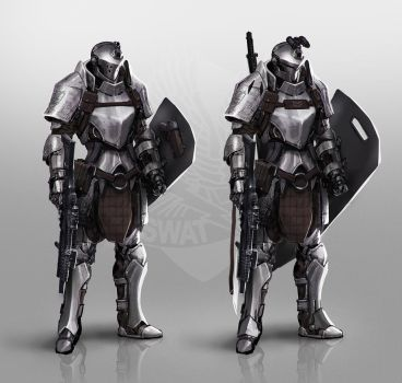 Tactical Knight by johnsonting