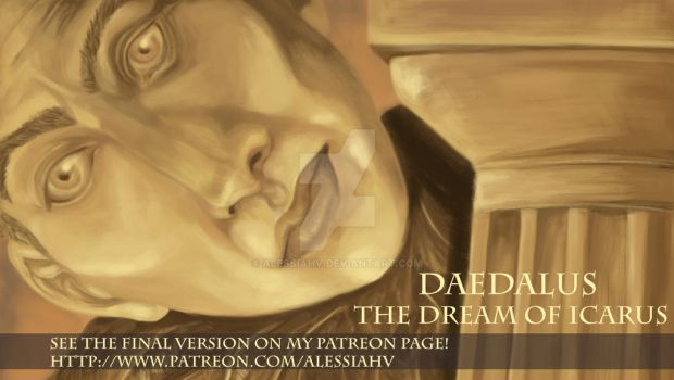 [Patreon]DAEDALUS - the Dream of Icarus by AlessiaHV