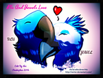 Blu And Jewels Love in Studio Frame by HomeOfBluAndshadows