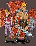 He-man Anime Style Redesign by JazylH