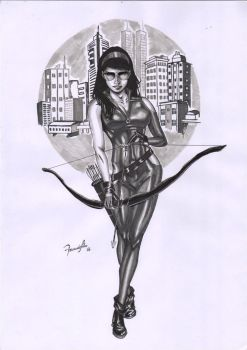 Kate Bishop by fernandosilva1406