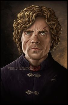 Tyrion Lannister by VinRoc