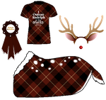 SPaVES Xmas Party - Reindeer Race by orengel