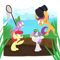 Catching Frogs by AliasForRent