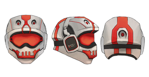 Concept gamer helmet by ronnie92